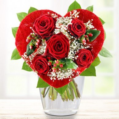 Blumenstrauß Herzchen
