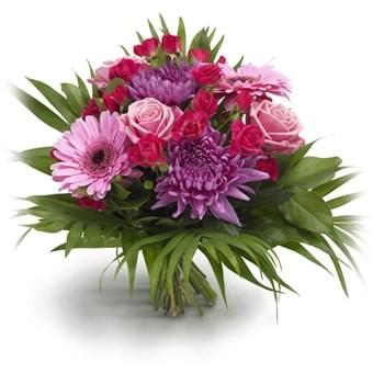Blumenstrauß farbenfrohe Liebe