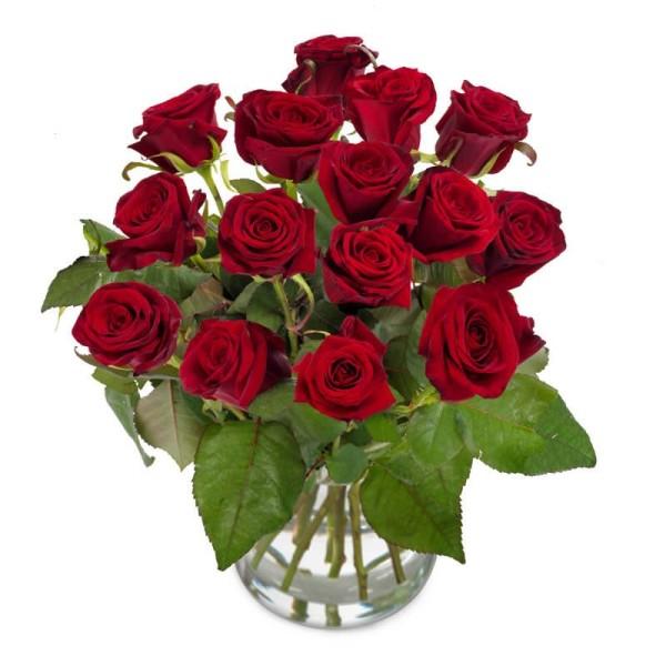 Herzensbrecher - Strauß rote Rosen