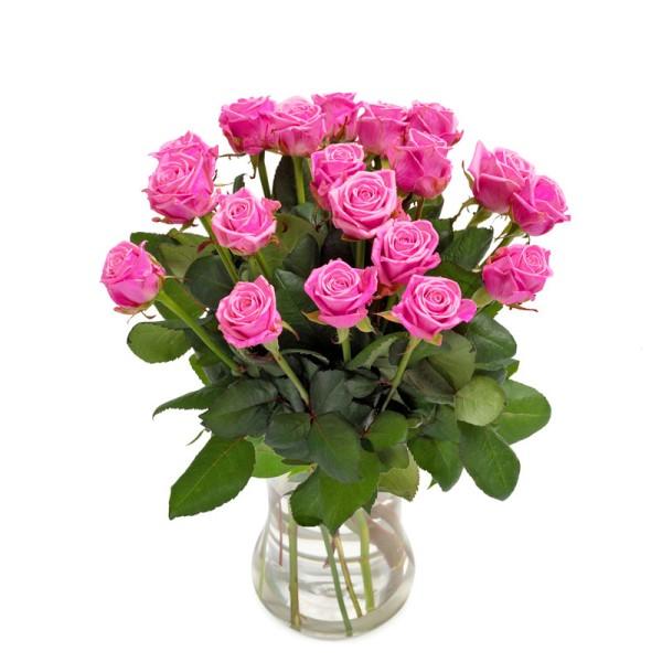 Rosenstrauß in pink