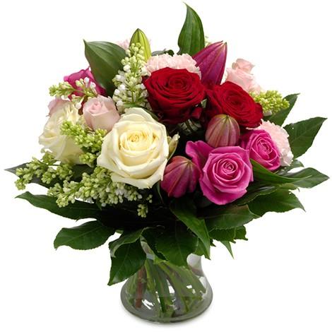 Blumen als Dankeschön verschicken