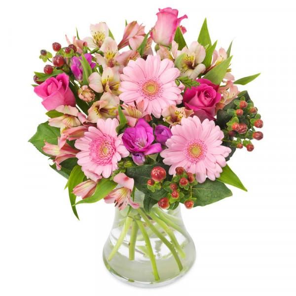 Blumenstrauß Rosa Grüße
