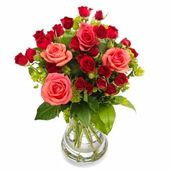 Liebevolle Rosen versenden