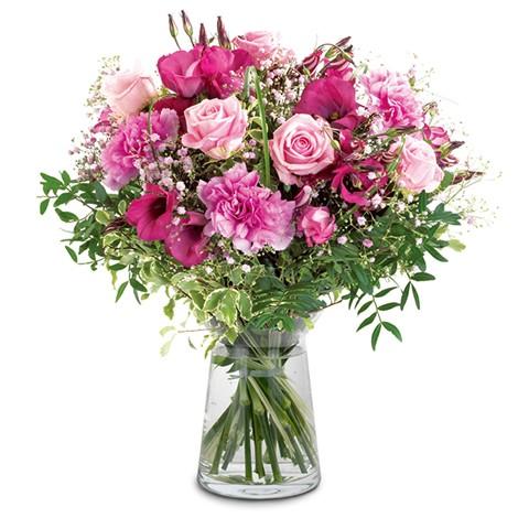 Blumenstrauß traumhaftes rosa