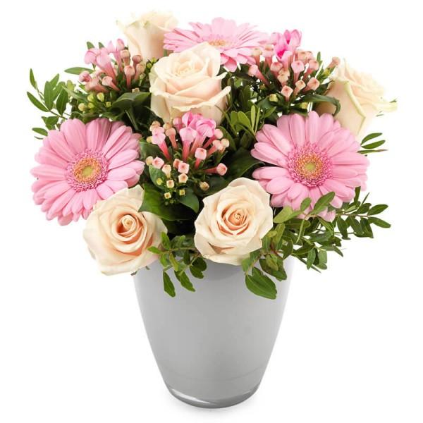 Blumengesteck rosa Träumerei