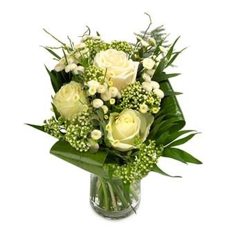 Blumenstrauß weiße Eleganz