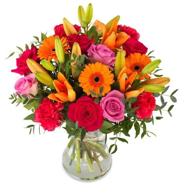 Blumenstrauß Farbenpracht