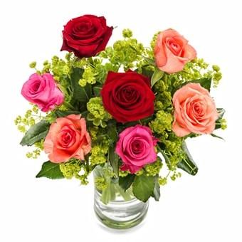 Rosenstrauß Sanfte Farben